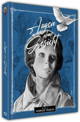 Augen ohne Gesicht (1959) (Cover B, s/w, Limited Collector's Edition, Mediabook, Blu-ray + DVD)