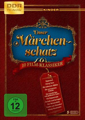 Unser Märchenschatz - 10 Film-Klassiker (DDR TV-Archiv Kinder, 5 DVDs)