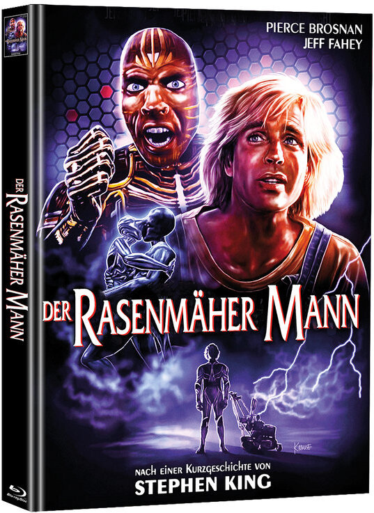 Der Rasenmäher Mann (1992) (Cover C, Super Spooky Stories, Limited Edition, Mediabook, Blu-ray + DVD)