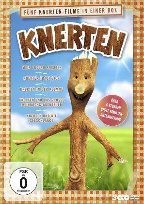 Knerten - Mein Freund Knerten / Knerten traut sich / Knerten in der Klemme / Knerten und das grosse Weihnachtsabenteuer / Knerten und die Seeschlange (3 DVDs)