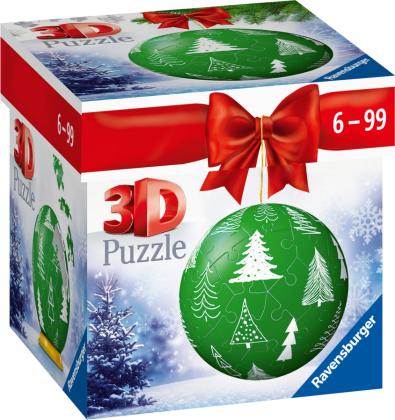 Puzzle-Ball Weihnachtskugel Tannenbaum (Kinderpuzzle)