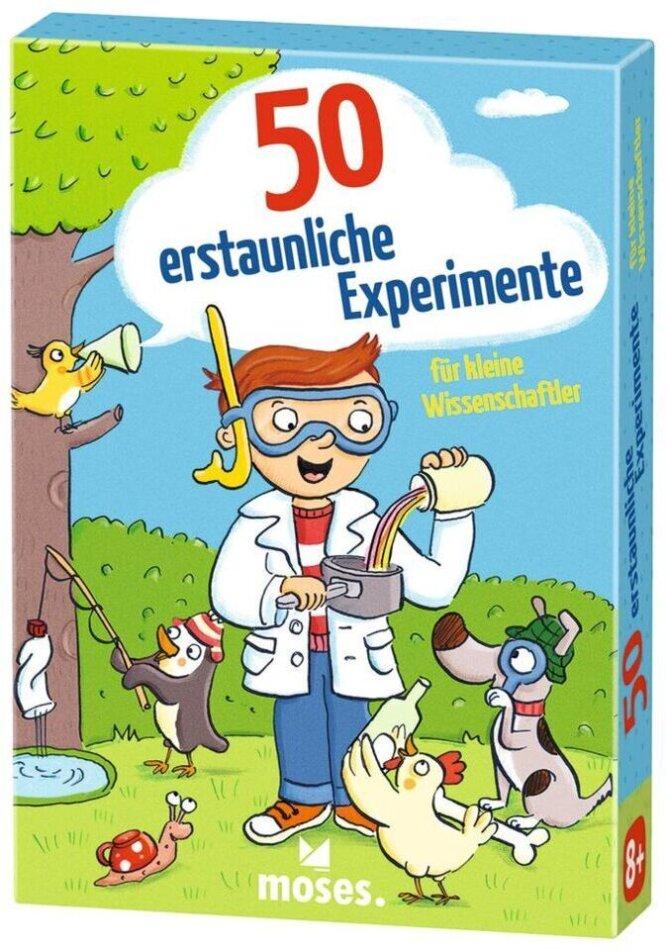 50 erstaunliche Experimente für kleine Wissen