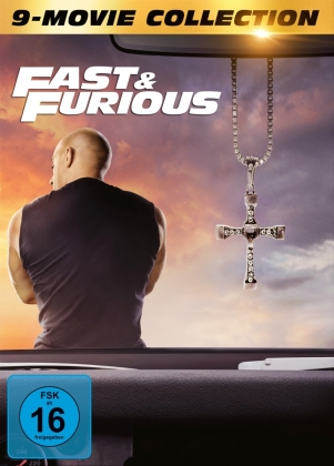 Fast & Furious 1-9 - 9-Movie Collection (9 DVDs)