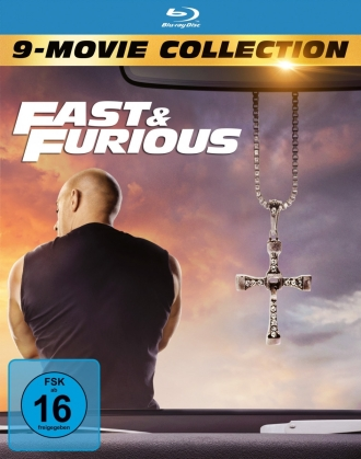 Fast & Furious 1-9 - 9-Movie Collection (9 Blu-rays)