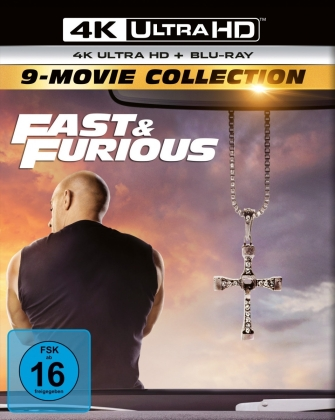 Fast & Furious 1-9 - 9-Movie Collection (9 4K Ultra HDs)