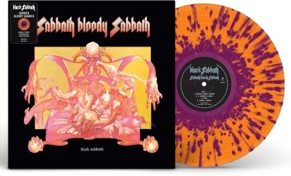Black Sabbath - Sabbath Bloody Sabbath (2021 Reissue, Limited Edition, Splatter Vinyl, LP)