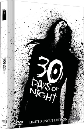30 Days of Night (2007) (Cover C, Collector's Edition Limitata, Mediabook, Uncut, Blu-ray + DVD)