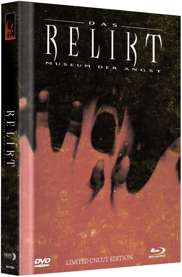 Das Relikt - Museum der Angst (1997) (Cover C, Limited Collector's Edition, Mediabook, Uncut, Blu-ray + DVD)