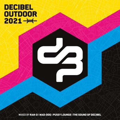 Ran-D, Pussy Lounge & The Sound Of Decibel - Decibel Outdoor 2021 (4 CDs)