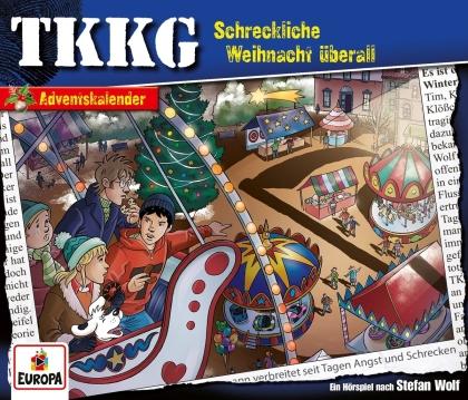 TKKG - Schreckliche Weihnacht überall (Adventskalender) (2 CD)