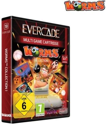 Blaze Evercade Worms Cartridge 1