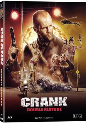 Crank 1 & 2 (Cover W, Wattiert, Limited Edition, Mediabook, 2 Blu-rays)