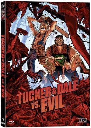 Tucker & Dale vs. Evil (2010) (Wattiert, Cover W, Limited Edition, Mediabook)