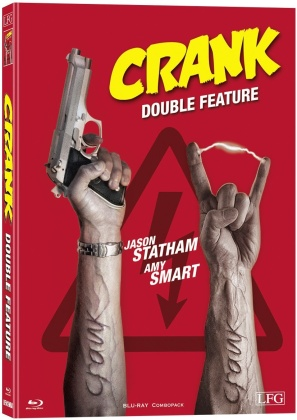 Crank 1 & 2 (Cover A, Limited Edition, Mediabook, 2 Blu-rays)
