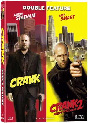 Crank 1 & 2 (Cover C, Limited Edition, Mediabook, 2 Blu-rays)