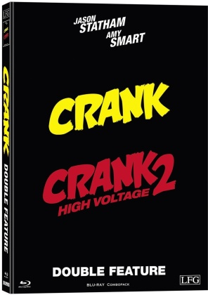Crank 1 & 2 (Cover D, Limited Edition, Mediabook, 2 Blu-rays)