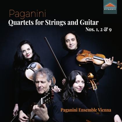 Paganini Ensemble Vienna & Niccolo Paganini (1782-1840) - Quartets For Strings And Guitar Nos. 1. 2 & 9