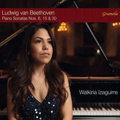 Ludwig van Beethoven (1770-1827) & Walkiria Izaguirre - The Elevation Of Mastery - Piano Sonatas Nos 6.15 & 30