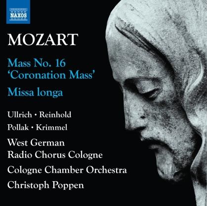 Wolfgang Amadeus Mozart (1756-1791), Christoph Poppen, Caroline Ullrich, Marie Henriette Reinhold & Cologne Chamber Orchestra - Complete Masses Vol. 1 - Mass No. 16 Coronation Mass / Missa Longa - Missa Longa