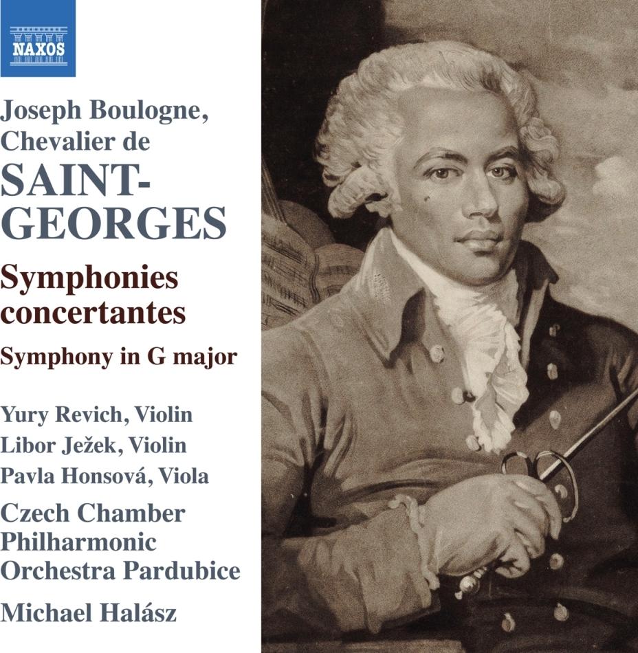 Joseph Boulogne Chevalier de Saint-George, Michael Halasz & Czech Chamber Orchestra - Symphonies Concertantes / Symphony In G Major