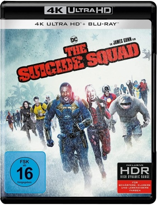The Suicide Squad (2021) (4K Ultra HD + Blu-ray)