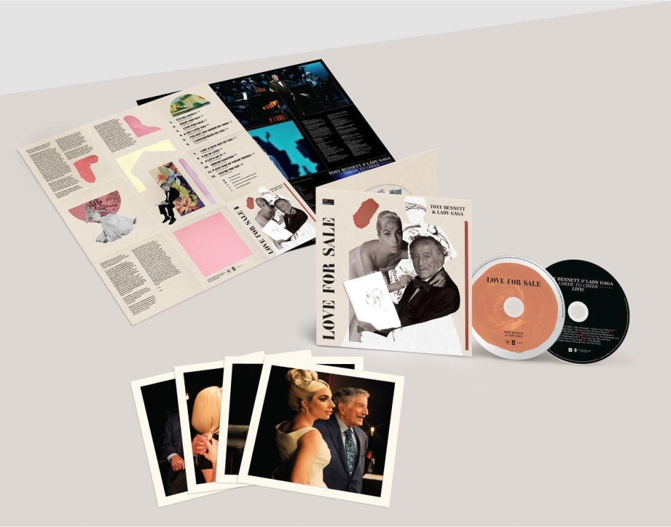 Tony Bennett & Lady Gaga - Love For Sale (2 CDs)