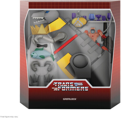 Transformers Ultimates! W2 - Grimlock (Dino Mode) (Edizione Limitata)