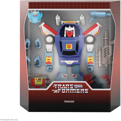 Transformers Ultimates! W2 - Tracks (G1 Cartoon) (Edizione Limitata)