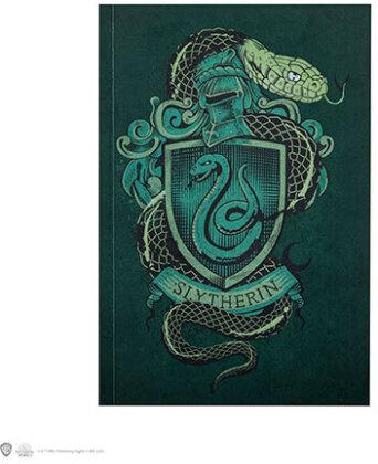 Carnet de note - Harry Potter - Serpentard - 128 pages - 18 cm