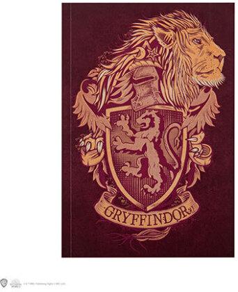 Carnet de note - Harry Potter - Gryffondor - 128 pages - 18 cm
