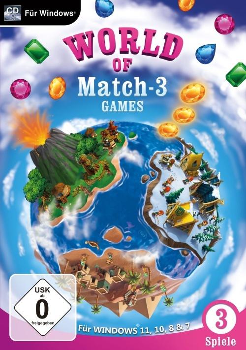 World of Match 3 Games für Windows 11 & 10