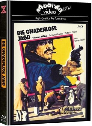 Die gnadenlose Jagd (1974) (Eurocult Collection, Cover D, Edizione Limitata, Mediabook, Blu-ray + DVD)