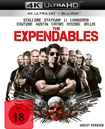 The Expendables (2010) (Uncut, 4K Ultra HD + Blu-ray)