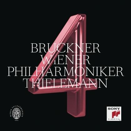 Christian Thielemann, Wiener Philharmoniker & Anton Bruckner (1824-1896) - Symphony No. 4, WAB 104 / Edition Haas