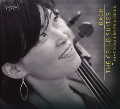 Johann Sebastian Bach (1685-1750) & Mime Yamahiro Brinkmann - The Cello Suites (2 CDs)
