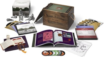 George Harrison - All Things Must Pass (Uber Boxset, Deluxe Edition, 8 LPs + 5 CDs + Blu-ray)