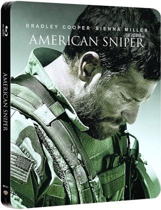 American Sniper (2014) (Steelbook, 2 Blu-rays)