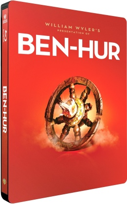 Ben Hur (1959) (Iconic Moments Collection, Steelbook, 2 Blu-rays)