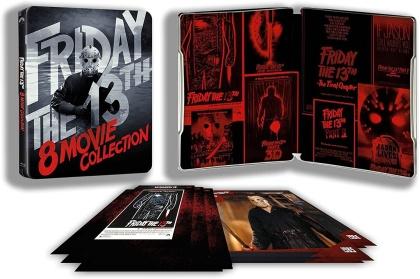Vendredi 13 - La Collection 8 films (Limited Edition, Steelbook, 6 Blu-rays)