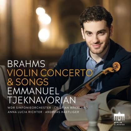 Johannes Brahms (1833-1897) & Emmanuel Tjeknavorian - Violin Concerto & Songs