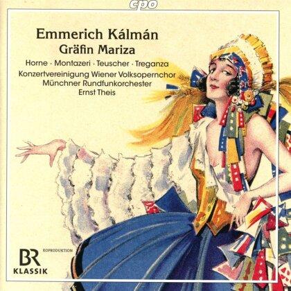 Emmerich Kálmán (1882-1953), Ernst Theis, Horne, Montazeri & Münchner Rundfunkorchester - Grafin Mariza (2 CDs)