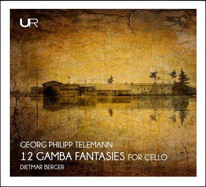 Georg Philipp Telemann (1681-1767) & Dietmar Berger - 12 Gamba Fantasies For Cello