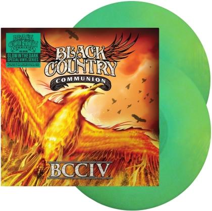 Black Country Communion (Glenn Hughes/Joe Bonamassa/Jason Bonham/Derek Sherinian) - BCCIV (2021 Reissue, Mascot, Glow In The Dark Green Vinyl, 2 LPs)