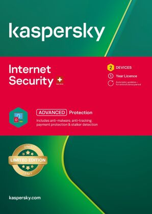 Kaspersky Internet Security (2 PC) [PC/Mac/Android]