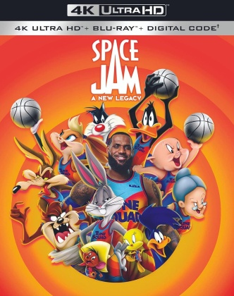 Space Jam - A New Legacy (2021) (4K Ultra HD + Blu-ray)