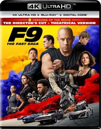 F9 - Fast & Furious 9 - The Fast Saga (2021) (4K Ultra HD + Blu-ray)