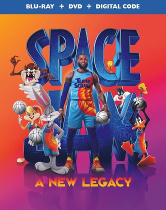 Space Jam 2 - A New Legacy (2021) (Blu-ray + DVD)