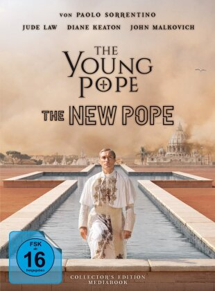 The Young Pope / The New Pope (Limited Collector's Edition, Mediabook, 5 Blu-rays)