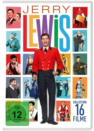 Jerry Lewis - 16 Filme Collection (16 DVDs)