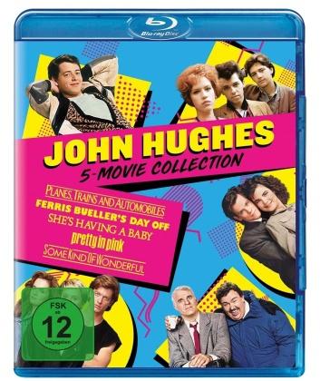 John Hughes 5-Movie Collection - Ein Ticket für Zwei / Ferris macht blau / She's having a baby / Pretty in Pink / Ist sie nicht wunderbar (5 Blu-rays)